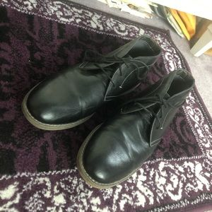 Men's low ankle boot dress shoes!